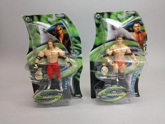 2 WWE Wrestling Action Figures