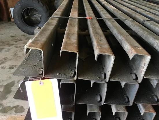 10-4in x 10ft steel side walk forms.