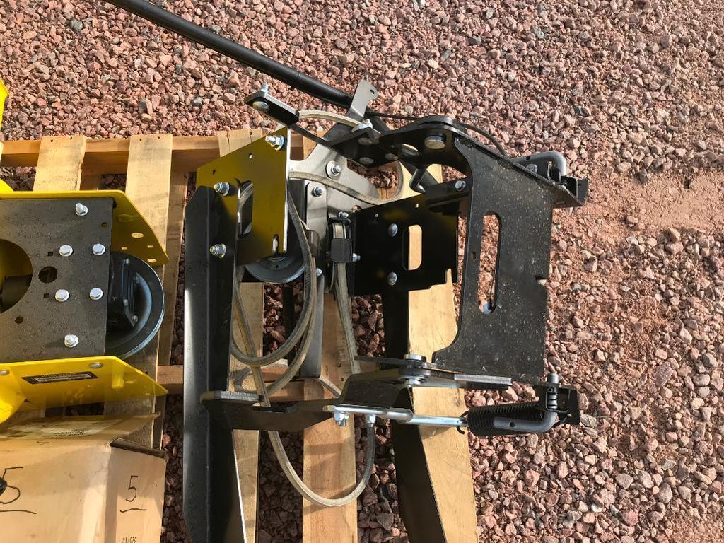 Lot: New 2018 John Deere 44SB lawn tractor snow blower