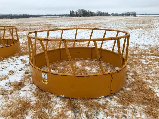 Sioux round bale feeder ring.