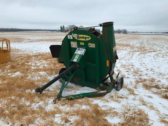 Badger BN 2060 forage blower; s/n 017123BC540-31451.