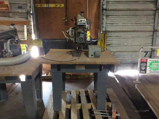 """DeWalt 790; 12"""" radial arm saw; 3ph."""