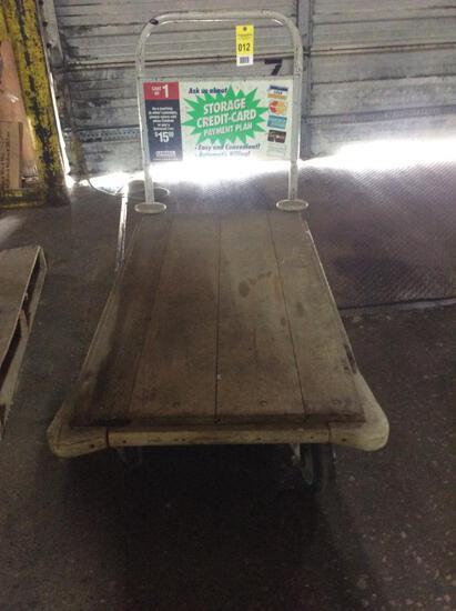 6-wheel platform cart.