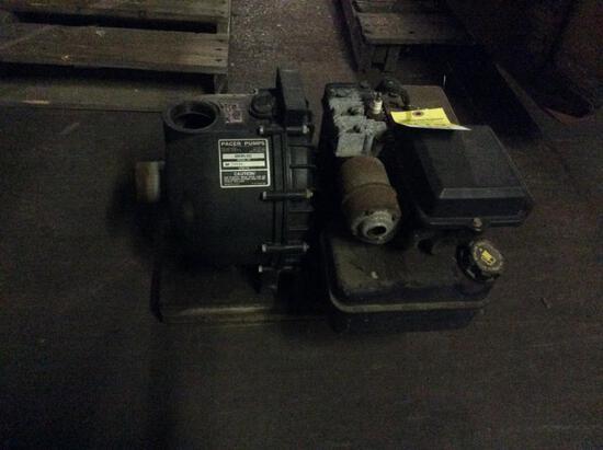 Pacer water pump w/ gas engine.