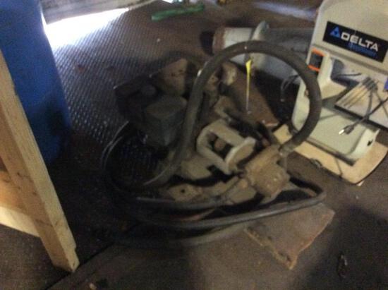 Transfer pump w/ gas engine.