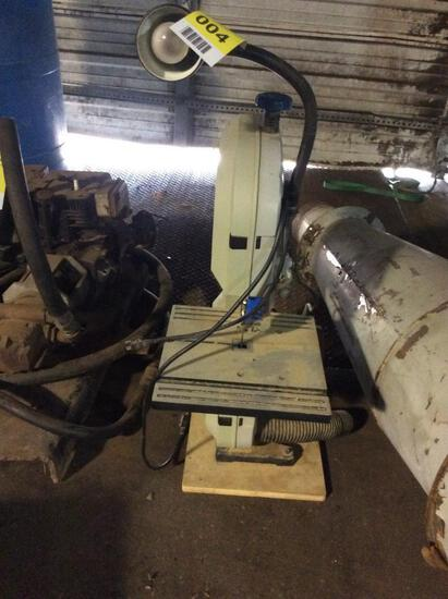 Delta table top band saw; 1ph.