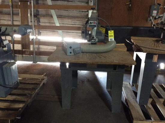 DeWalt radial arm saw; 3ph.