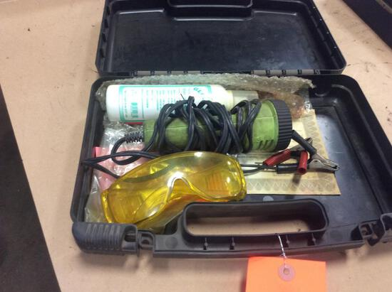 EZ Shot leak detector.