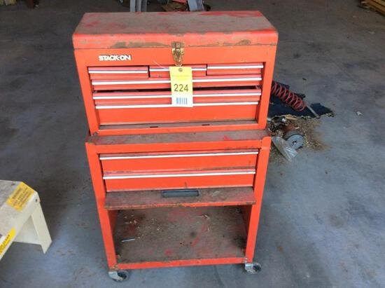 Stack on tool chest.
