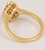 Pink Sapphire Diamond Ring Image 4