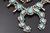 7.47 Oz Vintage Navajo Squash Blossom Necklace Image 2