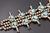 7.47 Oz Vintage Navajo Squash Blossom Necklace Image 12