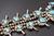 7.47 Oz Vintage Navajo Squash Blossom Necklace Image 13