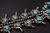 7.47 Oz Vintage Navajo Squash Blossom Necklace Image 15