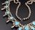 7.47 Oz Vintage Navajo Squash Blossom Necklace Image 4