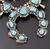 7.47 Oz Vintage Navajo Squash Blossom Necklace Image 8