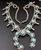 7.47 Oz Vintage Navajo Squash Blossom Necklace Image 1