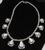 Signed High Grade Dry Creek Squash Blossom Necklace Image 2