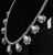 Signed High Grade Dry Creek Squash Blossom Necklace Image 13