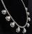 Signed High Grade Dry Creek Squash Blossom Necklace Image 6
