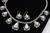 Signed High Grade Dry Creek Squash Blossom Necklace Image 10