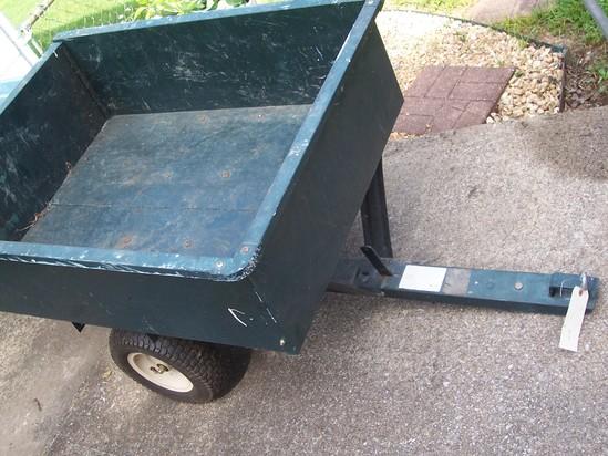 Lawn and garden utility trailer