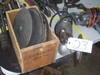 Angle grinder and misc. sawblades and grinding wheels