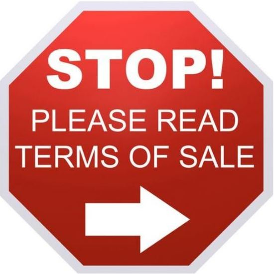 Auction Announcement - Read terms & conditions !!