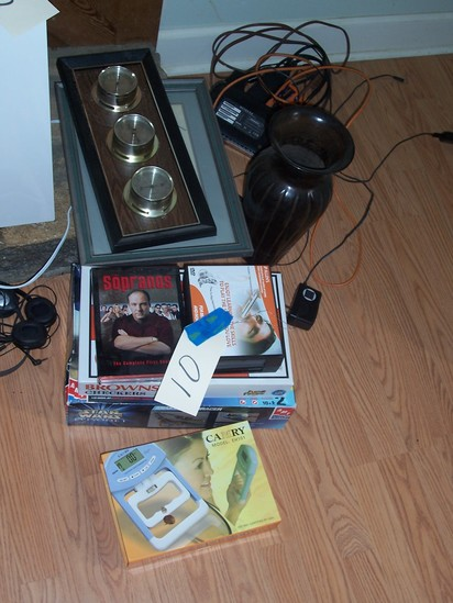 Dvd's and games
