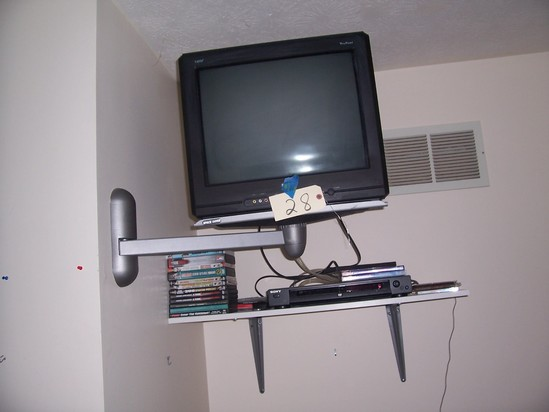"DVD player, DVD""s and TV"