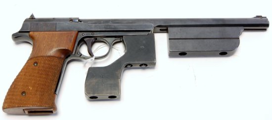 Walther Olympia Model Semi Auto Pistol