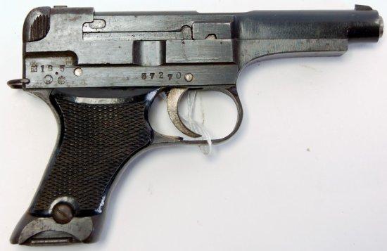 Japanese Type 94 Semi Auto Pistol