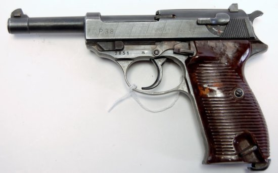 Walther P38 1st Gen ac45 Code Semi Auto Pistol