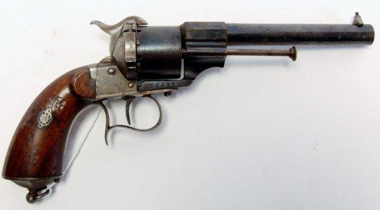 Lefauchaux Antique Pinfire Model Revolver