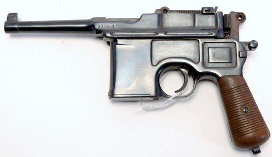 Mauser Late Postwar Bolo Model Broomhandle Pistol