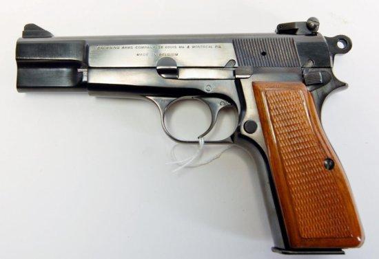 Browning Hi Power Semi-Auto Pistol