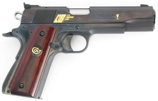 Colt M1911 MK IV National Match Gold Cup, .45cal