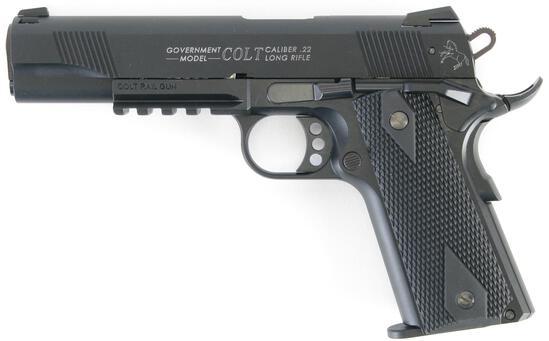 Colt Walther Rail Gun, Semi-Auto, .22LR