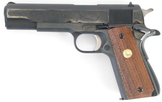 Colt 1911 Gov't Model, MI State Police, .45cal