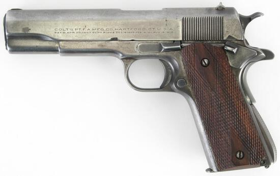 Colt 1911-A1 Gov't Model Semi-Auto, .45cal