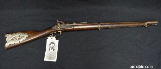 Springfield Rifle Of Theodore Judah