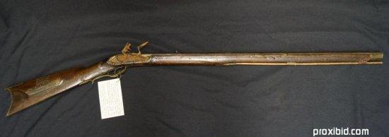 St. Louis Style Flintlock Long Rifle
