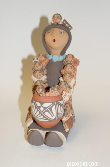 Indian Pottery Figure Story Teller