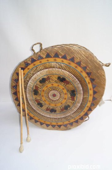 Northern Plains Indian Drum