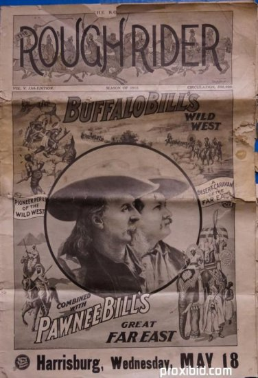 Rough Rider Season of 1910 Buffalo Bill Program