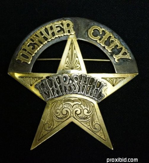 David Cook's Marshall's Badge