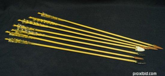 Seven Hand Made Arrows