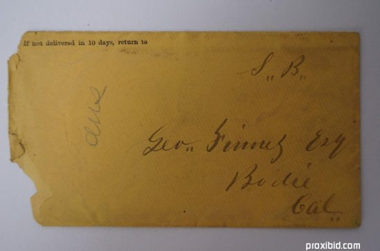 U. S. Stage Co. Letter
