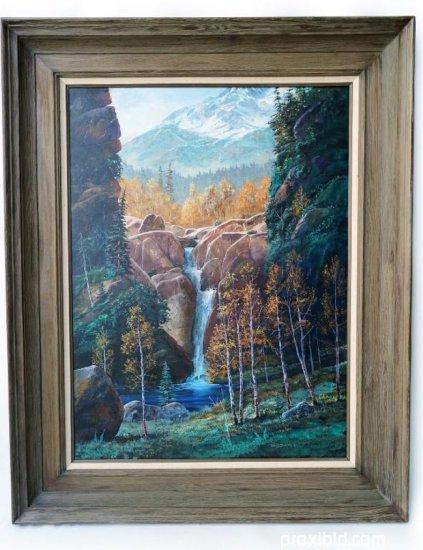 Tom J. Dooley Oil on Canvas