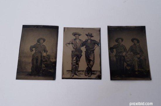Three Tintypes